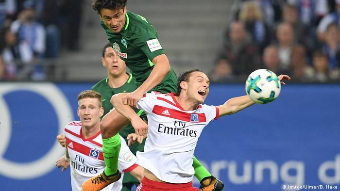 Deutschland Hamburger SV SV Werder Bremen (imago/Ulmer/B. Hake)