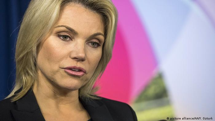 USA Heather Nauert (picture alliance/AA/Y. Ozturk )