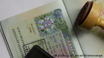 Symbolbild Visum und Visa Warndatei