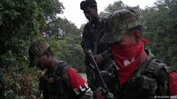 Kolumbien ELN Rebellen (Reuters/F. Rios)