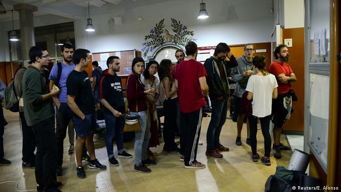 Spanien Referendum Katalonien (Reuters/E. Alonso)