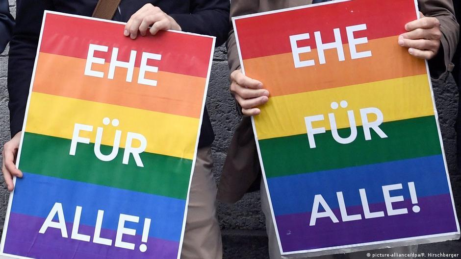 Каждый 14-й брак в ФРГ заключен однополыми партнерами | DW | 19.08.2019