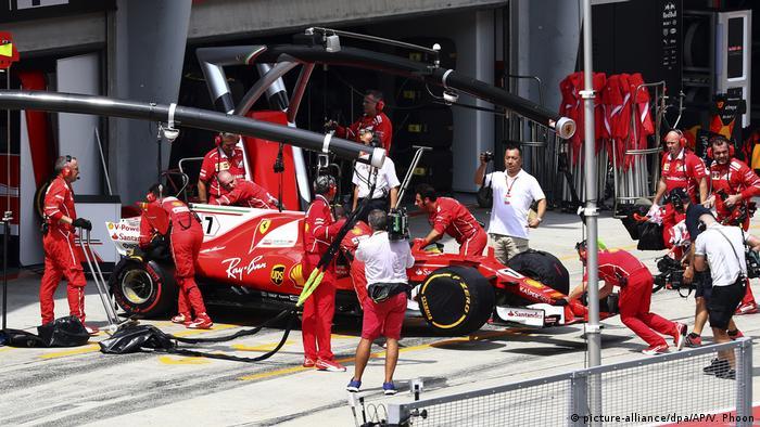 Motorsport: Formel-1, Grand Prix von Malaysia Räikkönen