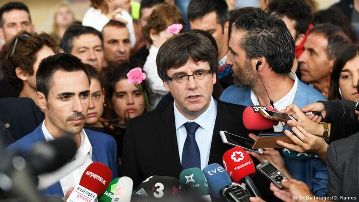 Карлес Пучдемон хоче, щоб ЄС виступив посередником у діалозі з Мадридом