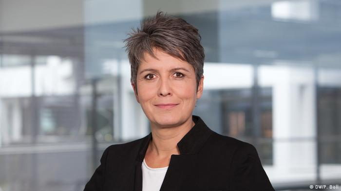 Ines Pohl, jefa de Deutsche Welle en Washington.