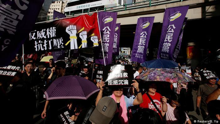 Hongkong Proteste für Demokratie (Reuters/B. Yip)