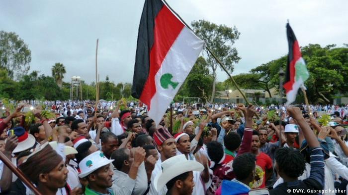 Äthiopien Irreecha Feierlichkeiten