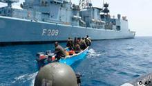 Deutschland hat am Horn von Afrika Piraten festgenommen