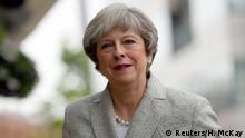 Großbritannien Conservative Party - Parteitag in Manchester | Theresa May, Premierministerin