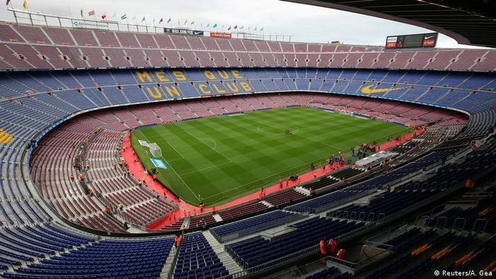 Spanien Barcelona Fußball Stadion Camp Nou