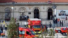 Frankreich Marseille Messerattacke Bahnhof Saint-Charles
