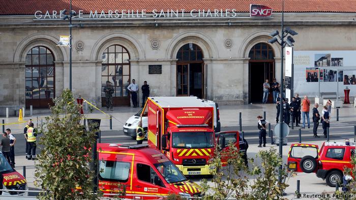 Frankreich Marseille Messerattacke Bahnhof Saint-Charles (Reuters/J.P. Pelissier)