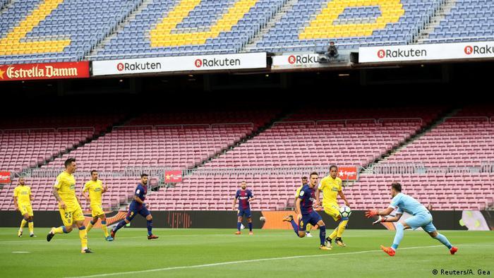 Fußball Spanien La Liga FC Barcelona vs Las Palmas