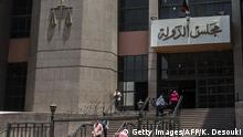 Ägypten Gericht in Kairo