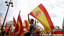 Spanien Madrid Demonstration für Einheit Spaniens