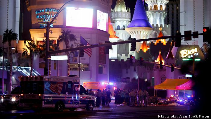 USA Schießerei in Las Vegas (Reuters/Las Vegas Sun/S. Marcus)