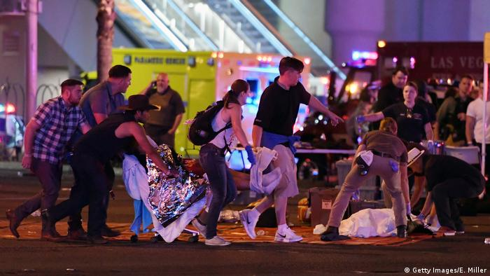 USA Schießerei in Las Vegas (Getty Images/E. Miller)
