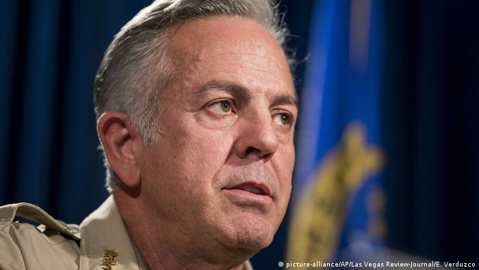 Las Vegas Sheriff Joe Lombardo (picture-alliance/AP/Las Vegas Review-Journal/E. Verduzco)