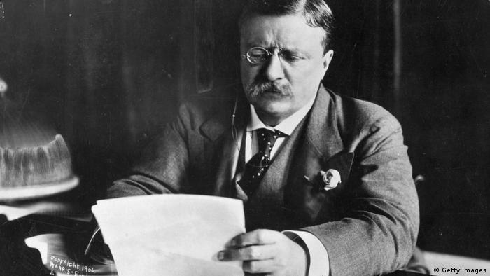 El presidente número 26 de EE. UU., Theodore Roosevelt, nunca fue considerado un pacifista por su participación en la guerra hispanoamericana.