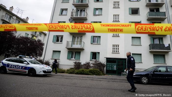 Elsass - Brand in Mulhouse (Getty Images/AFP/S. Bozon)