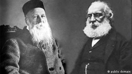 Henry Dunant and Frederic Passy