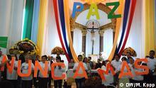 Kolumbien Schritt zur Versöhnung in Granada Nunca mas