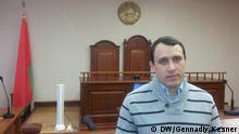 Weißrussland Oppositioneller Pawel Sewerinez