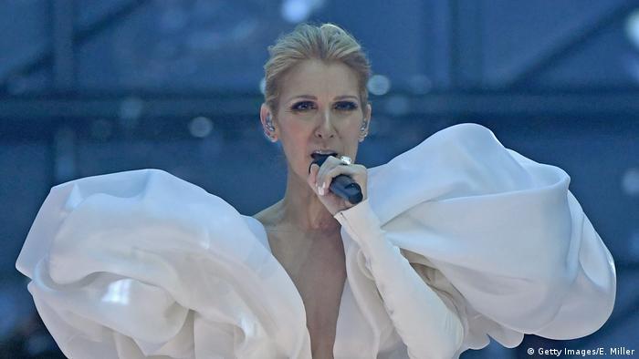 Celine Dion singt in Las Vegas