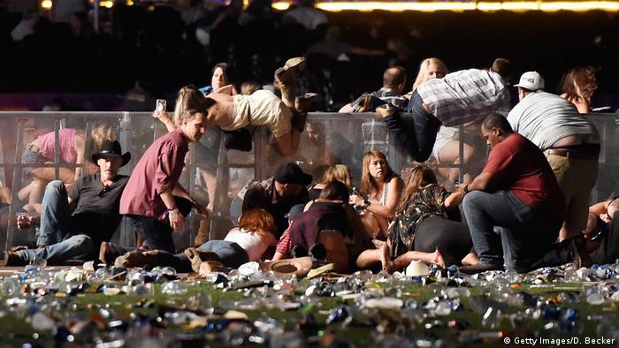 Поліція Лас-Вегаса оприлюднила нові дані про кількість жертв розстрілу фестивалю кантрі-музики Route 91 Harvest