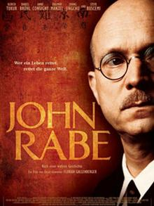 A promotional poster for John Rabe