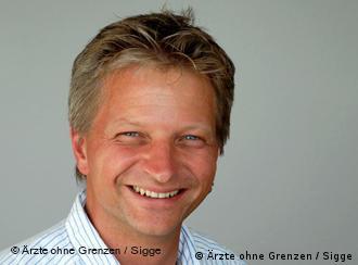 Глава немецкой секции Врачей без границ Франк Дёрнер