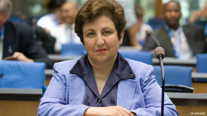 Shirin Ebadi - Lawyer, former judge and human rights activists, founder of the Defenders of Human Rights Center, Iran (2008)