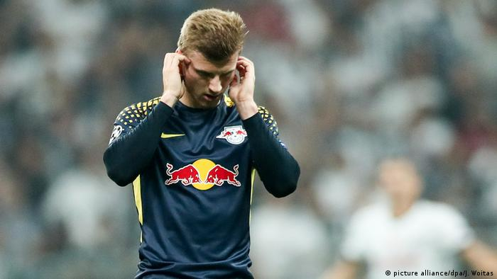 Fussball Champions League - RB Leipzig - Timo Werners (picture alliance/dpa/J. Woitas)