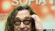 German director Wim Wenders poses during a press conference in Grand Hotel Sofia, Bulgaria on Monday ,05 March 2007. Wim Wenders is a special guest for the International Film festival in Sofia . EPA/VASSIL DONEV +++(c) dpa - Report+++