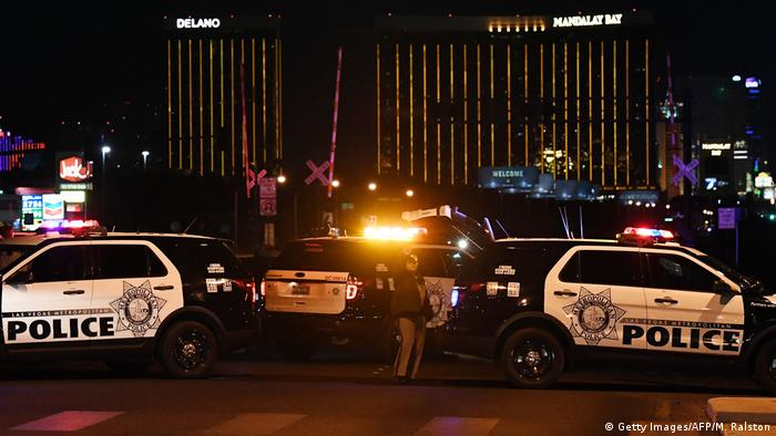 Police cars in Las Vegas