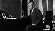 Nobelpreisträger, der 28. US-Präsident Woodrow Wilson