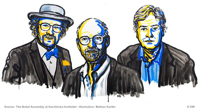 Illustration Nobelpreisträger Medizin 2017 ENG
