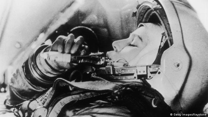 Russland erste Frau im Weltall Valentina Tereshkova (Foto: Getty Images/Keystone)