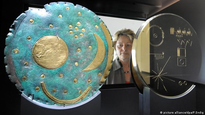 Voyager Golden Record (Foto: picture alliance/dpa/P.Endig)