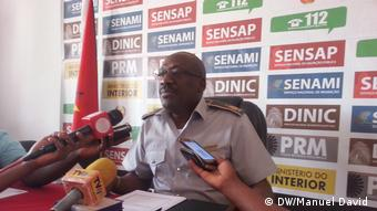 Mandimba, Mosambik, Aguilasse Mada, Kommandant der Polizei der Republik Mosambik in der Niassa Provinz