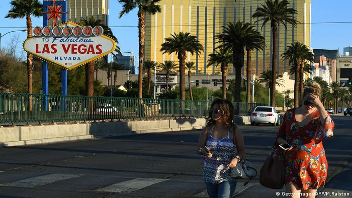 Las Vegas Schießerei (Getty Images/AFP/M.Ralston)