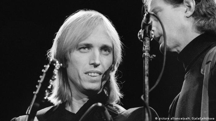 Tom Petty and the Heartbreakers auf Finnlandtour 1987 (Foto: picture alliance/pa/A. Ojala/Lehtikuva)