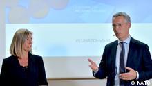 NATO Mogherini und Stoltenberg