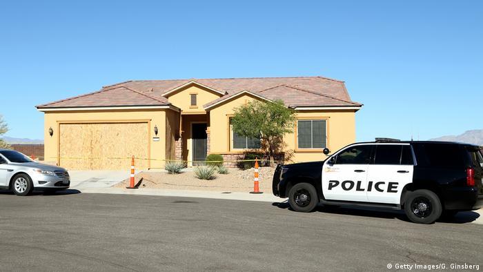 A casa de Stephen Paddock: ele morava num condomínio de aposentados em um subúrbio de Mesquite