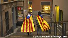 Spanien Girona nach dem Referendum in Katalonien