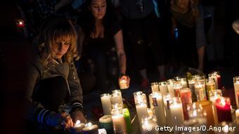 Homenagem às vítimas de Las Vegas