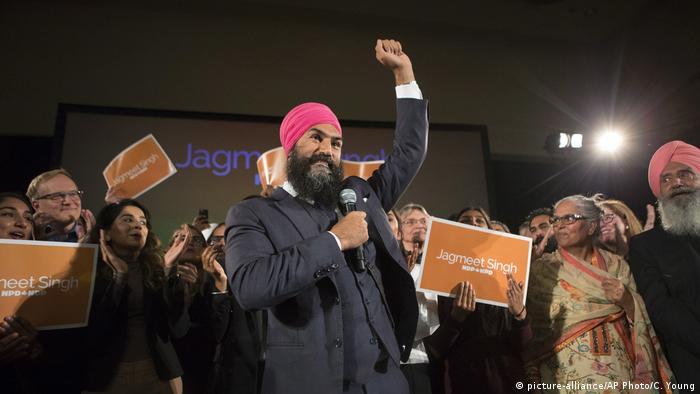 Kanada Sikh Jagmeet Singh