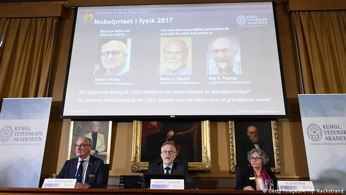 Оголошення Нобелівської премії з фізики 2017 року