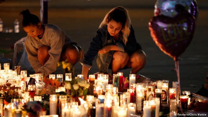 USA Las Vegas Trauer nach Massen-Schießerei (Reuters/Chris Wattie)