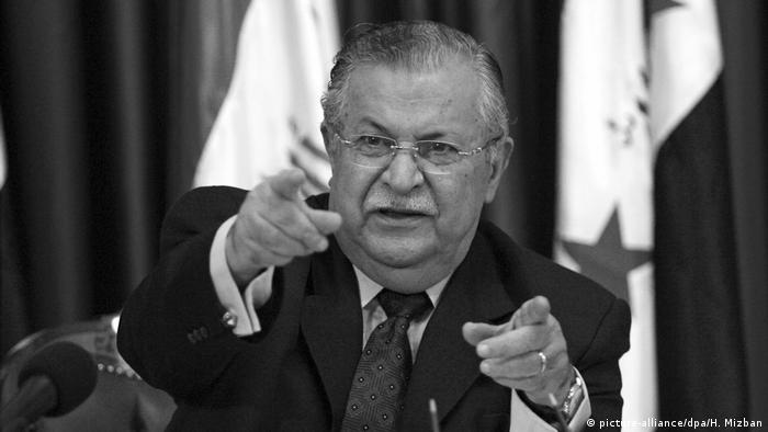 Iraks Ex-Präsident Talabani gestorben (picture-alliance/dpa/H. Mizban)